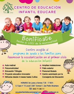educare centro conveniado por la junta de andalucia